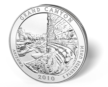 Picture of 5 oz Silver America the Beautiful - Grand Canyon National Park