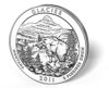 Picture of 5 oz Silver America the Beautiful - Glacier National Park