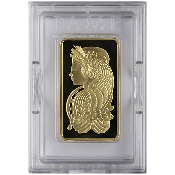 Picture of 5 oz Pamp Gold Bar