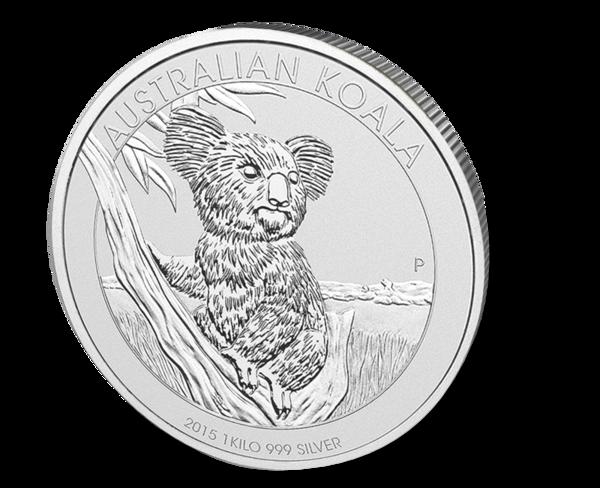 Picture of 2015 1 Kilo Australian Silver Koala