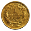 Picture of $1 Gold Coins Type 3 XF