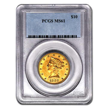 Picture of $10 Liberty Gold Coins MS 61