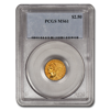 Picture of $2.5 Indian Head Gold Coins MS 61