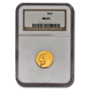 Picture of $2.5 Indian Head Gold Coins MS 65