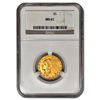 Picture of $5 Indian Head Gold Coins MS 61