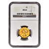 Picture of $5 Liberty Gold Coins MS 62