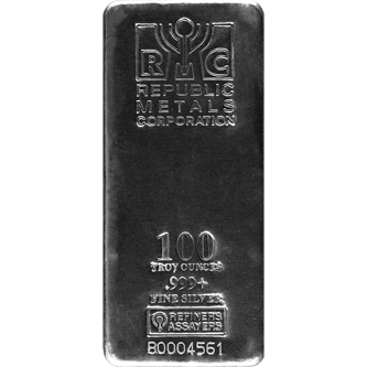 Picture for category 100 oz Silver Bars