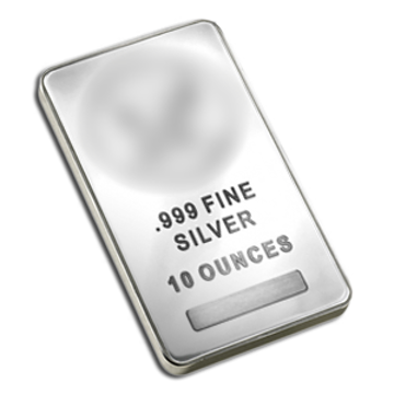 Picture of 10 oz Generic Silver Bar - Our Choice