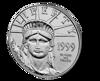 Picture of 1/2 oz American Platinum Eagle - Common Date
