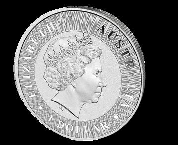Picture of 1 oz Australian Silver Kangaroo - 2016