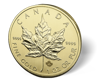 Picture of 1 oz Canadian Gold Maple Leaf - Common Date (.9999 FINE GOLD)