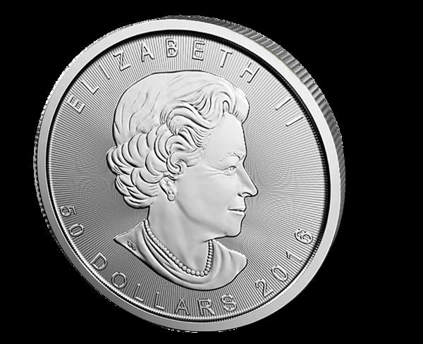 Picture of 1 oz Canadian Platinum Maple Leaf - 2016