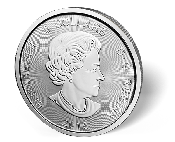 Picture of 1 oz Canadian Silver Cougar - 2016