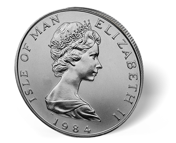 Picture of 1 oz Isle of Man Platinum Noble