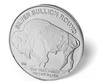 Picture of 1 oz Silver Buffalo Design Hm Round