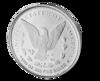 Picture of 1/10 oz Morgan Design Silver Round
