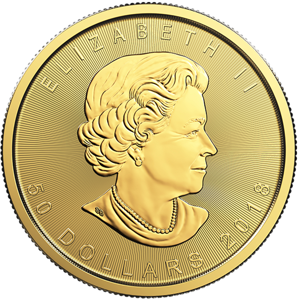 Picture of 2018 1 oz Gold Canadian Maple Leaf