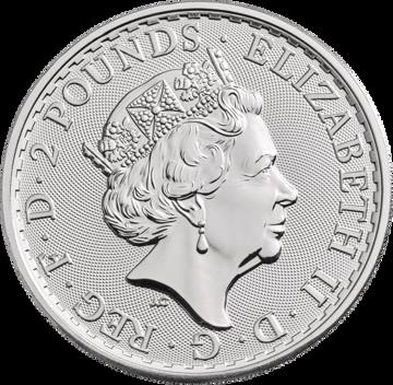 Picture of 2018 1 oz Great Britain Silver Britannia