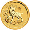 Picture of 2018 1/20 oz Perth Gold Dog