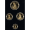 Picture of 4 Coin Proof American Gold Eagle Set (Random Date)