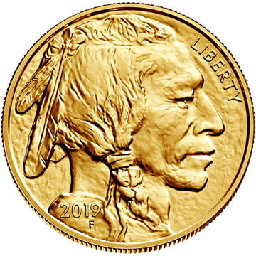 Picture of 2019 1 oz American Gold Buffalo
