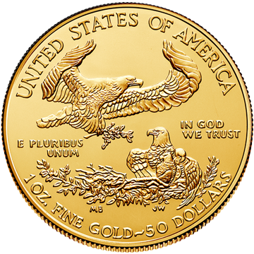 Picture of 2019 1 oz American Gold Eagle