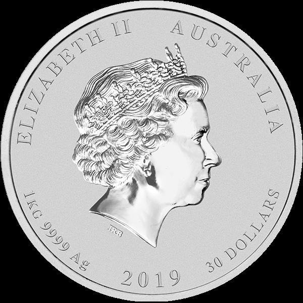 Picture of 2019 Kilo Australian Silver Pig
