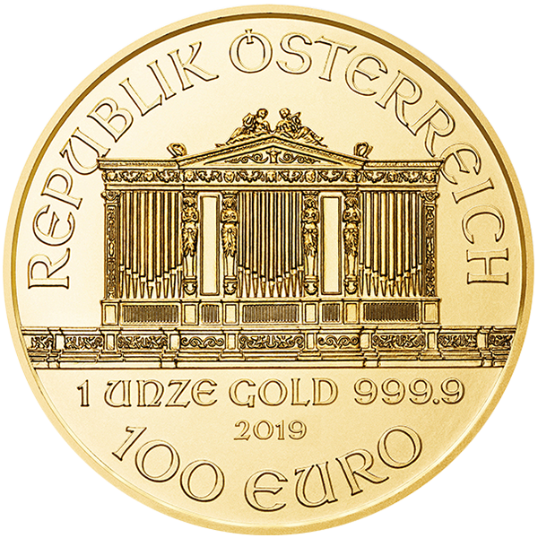 Picture of 2019 1 oz Austrian Gold Philharmonic