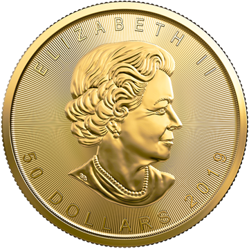Picture of 2019 1 oz Canadian Gold Maple Leaf