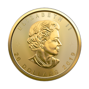 Picture of 2019 1/2 oz Canadian Gold Maple Leaf