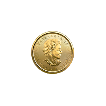 Picture of 2019 1/20 oz Canadian Gold Maple Leaf
