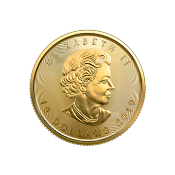 Picture of 2019 1/4 oz Canadian Gold Maple Leaf