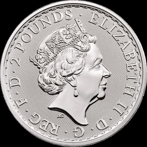 Picture of 2019 1 oz Great Britain Silver Britannia