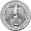 Picture of 2019 2 oz Silver Queens Beast Falcon