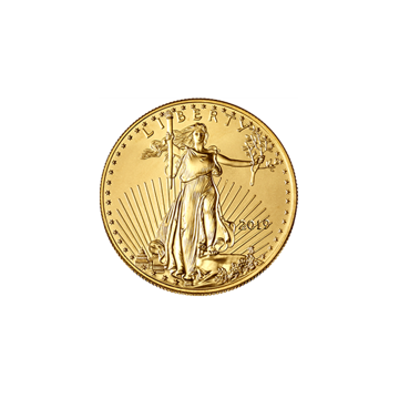 Picture of 2019 1/10 oz American Gold Eagle