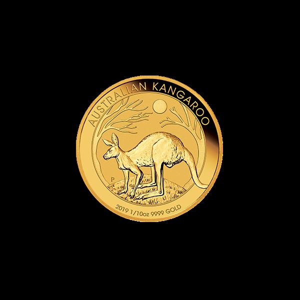 Picture of 2019 1/10 oz Australian Gold Kangaroo