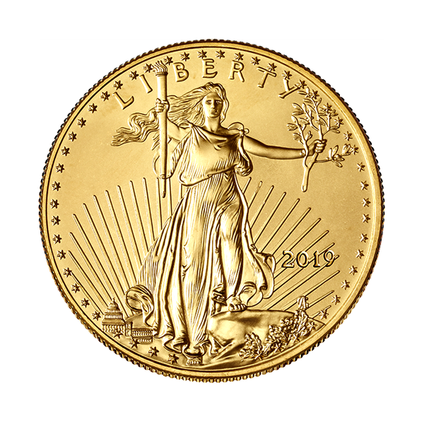 Picture of 2019 1/2 oz American Gold Eagle