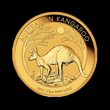 Picture of 2019 1/2 oz Australian Gold Kangaroo