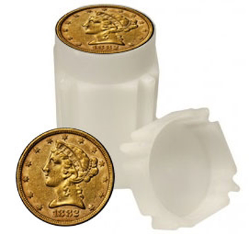 Picture of Circulated $5 Liberty Gold Coins (Roll of 20)