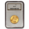 Picture of 1880S $10 Liberty Gold Coin MS63