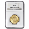 Picture of 1889S $10 Liberty Gold Coin MS65