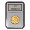 Picture of 1908 NM $10 Indian Gold Coin MS62