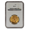 Picture of 1908D WM $10 Indian Gold Coin MS65