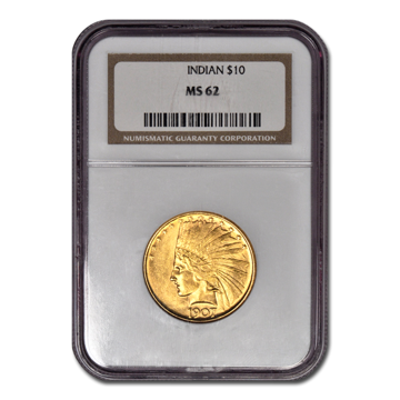 Picture of 1909S $10 Indian Gold Coin MS62