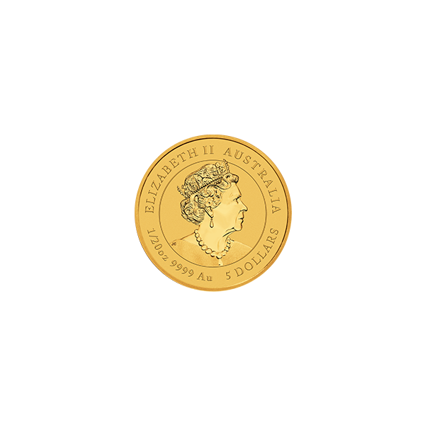 Picture of 2020 1/20 oz Perth Mint Gold Mouse