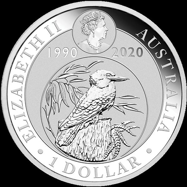 Picture of 2020 1 oz Australian Silver Kookaburra