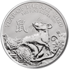 Picture of 2020 1 oz Silver Royal Mint Lunar Rat