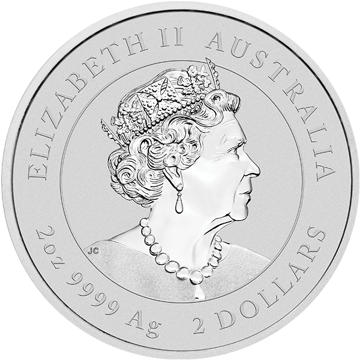 Picture of 2020 2 oz Perth Mint Silver Mouse