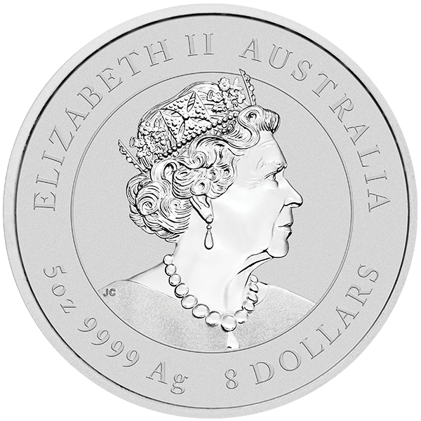 Picture of 2020 5 oz Perth Mint Silver Mouse