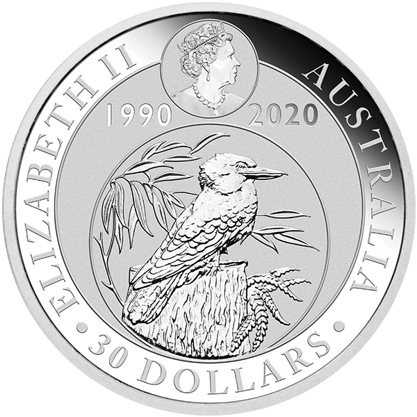 Picture of 2020 Kilo Australian Silver Kookaburra